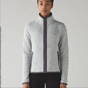 Lululemon Fleecing Cold Zip Up Jacket